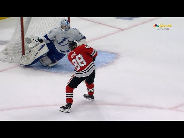 Louis Domingue robs Kane with marvelous save