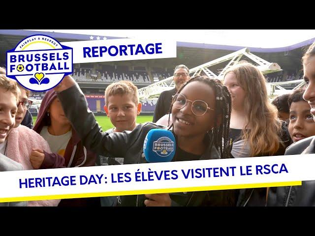Heritage Day: Le RSCA ouvre ses portes aux élèves