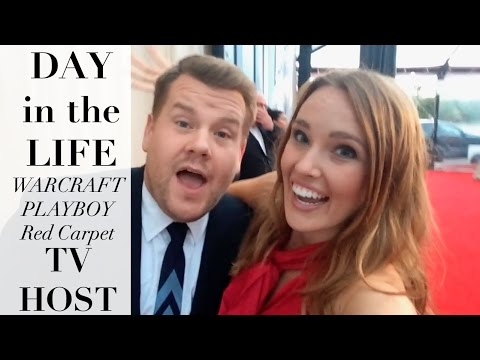 Day in the Life of a TV Host in Los Angeles!