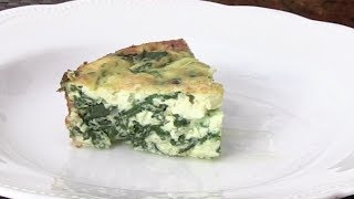 How To Make A Spinach and Cheese Frittata