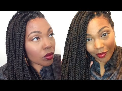 Girl Fix That New Growth On Your Box Braids| It's Time!!