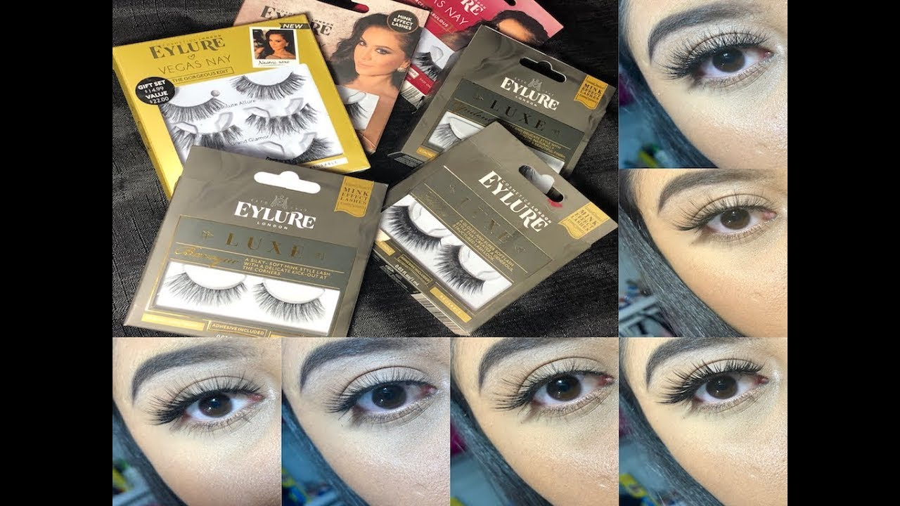 8e9a9922059 Eylure Lashes Try On Pt. 1 ✨ - YouTube