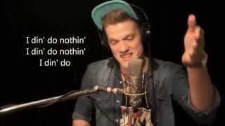 Scott Hoying - I Should Tell Ya Momma On You (RED COVER) (HD LYRICS)