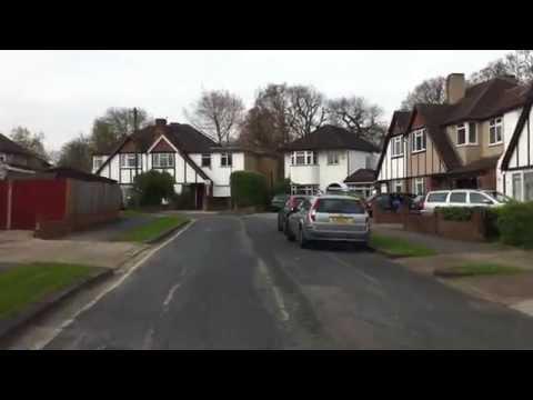 London streets (337.) - Isleworth (TW7) - Epsom (KT19)