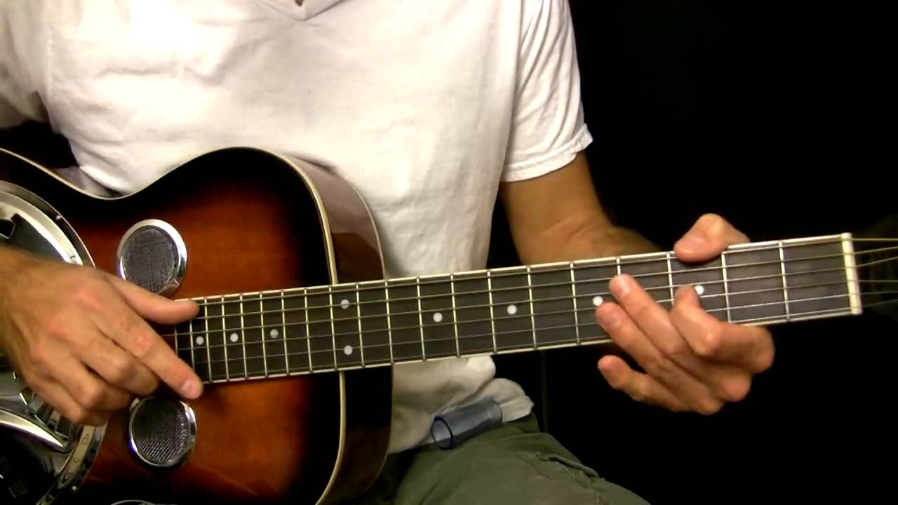 Easy Dobro Guitar Lesson In Open G Tuning Youtube