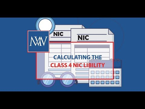 Calculating The Class 4 National Insurance Contribution Liability | Makesworth Accountants In Harrow
