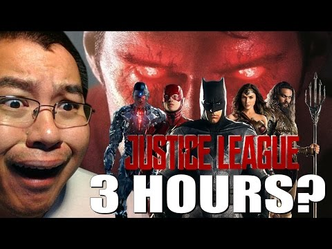 3 HOURS? Justice League Movie Runtime Revealed?