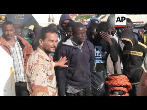 Libya detains 1900 Europe bound migrants