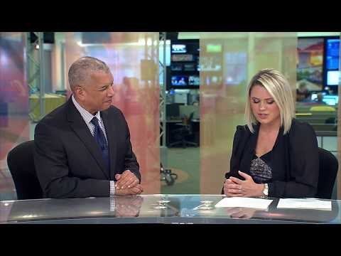 Russ Mitchell speaks about the importance of diversity in journalism | Madison Tromler