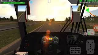 Heavy Bus Simulator Marcopolo Viaggio G7 1050 - Curitiba a Sao Paulo
