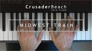 Upbeat Instrumental Piano Background Music | CrusaderBeach - Midwest Train