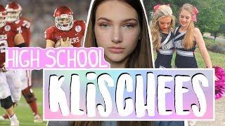 Cheerleader, Football Spieler, Alkohol, Fast Food ♥︎ HIGH SCHOOL KLISCHEES