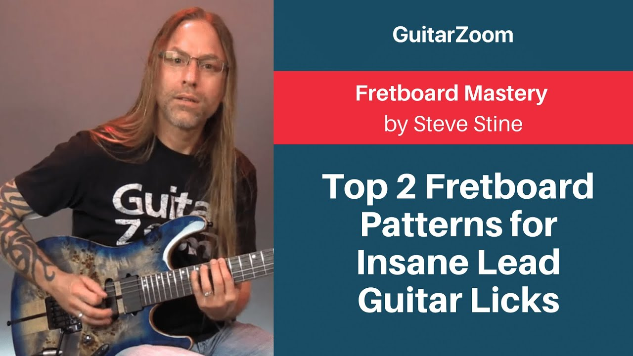 Top 2 Fretboard Patterns for Insane Lead Guitar Licks | Fretboard Mastery Workshop