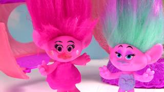 Trolls Movie Poppy Branch Get Hair Style & Toys at Hair Salon
