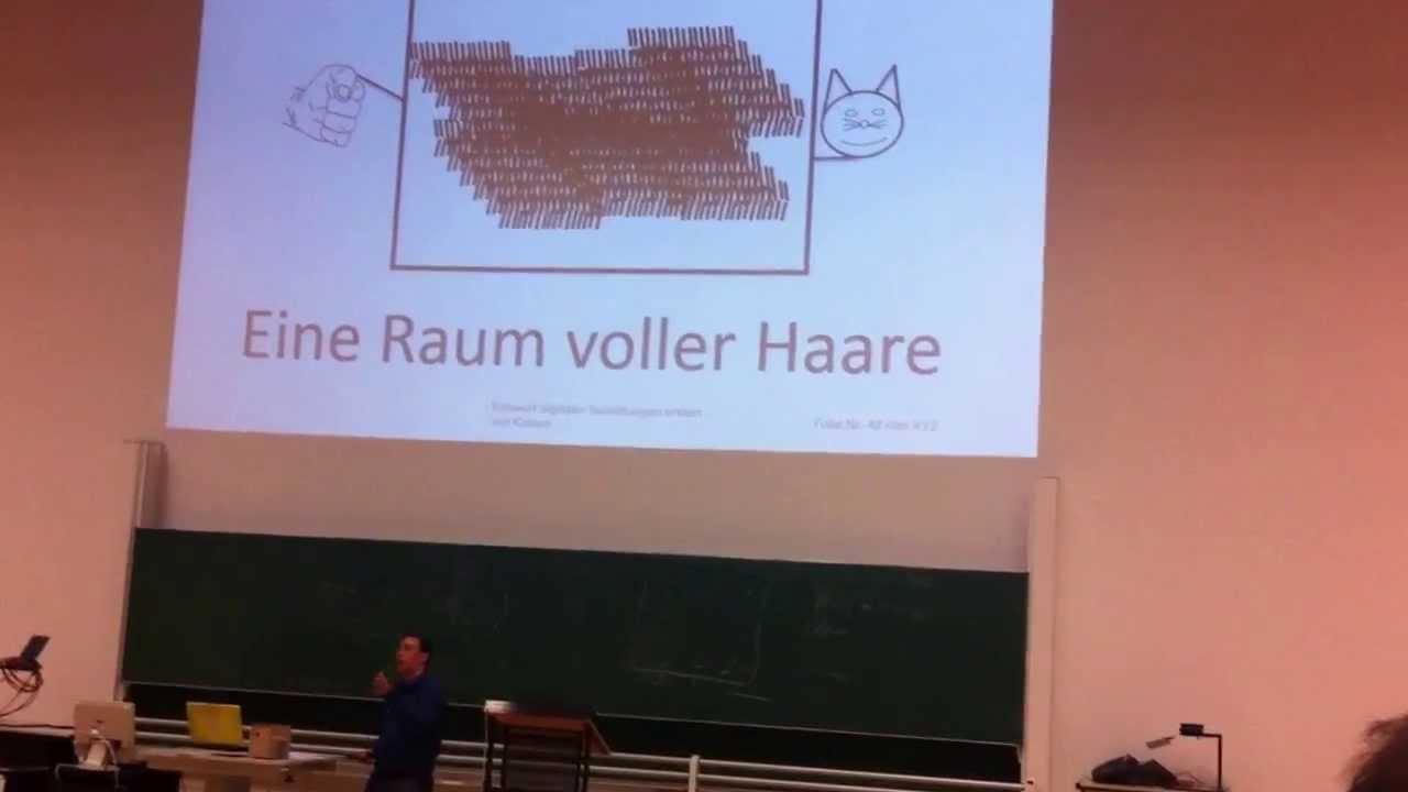 Science Slam: Elektronischer Schaltungsentwurf (Robert Niebsch, HSZ ...