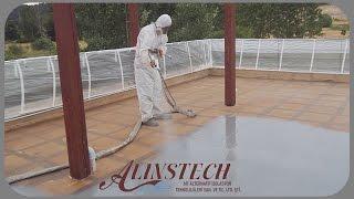 Teras Su İzolasyonu - Polyurea Uygulama - Alinstech