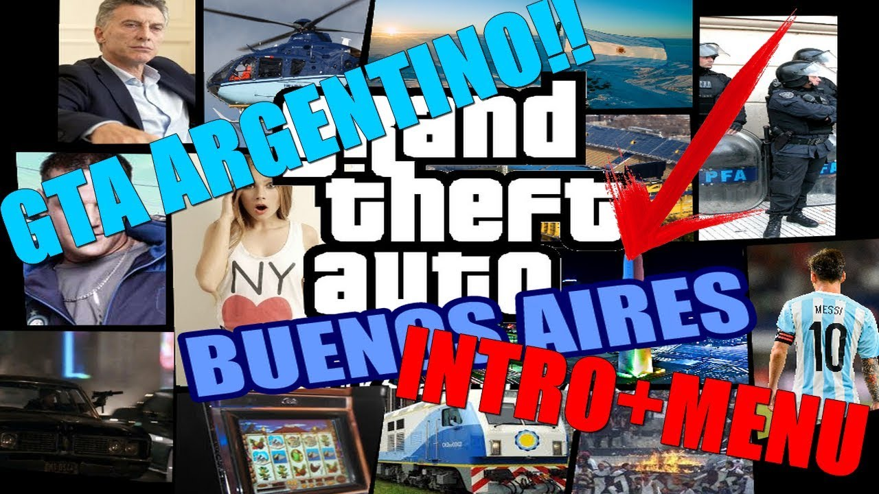 Gta San Andreas Intro Argentina Remake In Game Menu