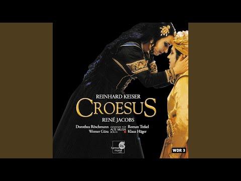 Croesus: Sinfonia Avanti L'opera Croesus