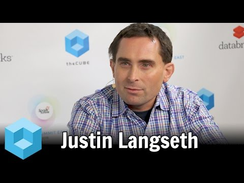 Justin Langseth – Spark Summit East 2016 – #SparkSummit – theCUBE