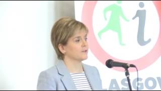 Nicola Sturgeon speaks at legacy event for murdered MP Jo Cox