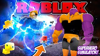 ROBLOX - SUPERHERO SIMULATOR SIDE KICK UPDATE!!!