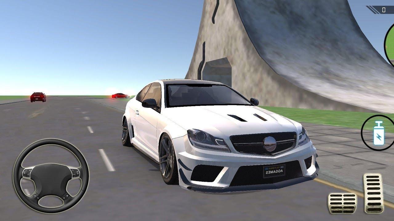 Jugando con Mercedes-AMG en Mundo Abierto - Coche a Máxima Velocidad - Juegos de Carros