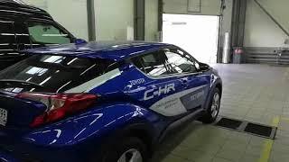 Установка NaviPilot DROID BOX NP-3325 в Toyota CH-R 2018