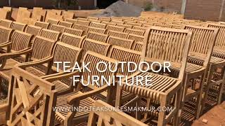 Producer And Wholesaler Teak Garden And Patio Furniture From Jepara Indonesia. High Quality & Cheap