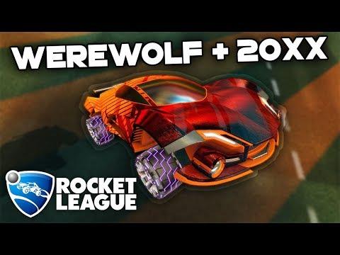 NEW WEREWOLF + 20XX = BEAUTY   Rocket League thumbnail