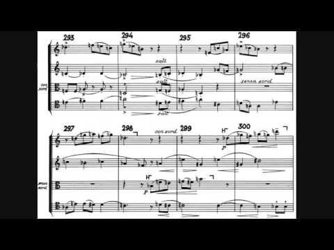 Arnold Schoenberg String Quartet No. 4