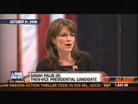Sarah Palin warned us about Russia invading the Ukraine