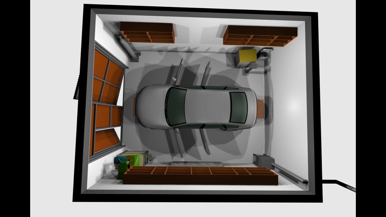 Tamaño Del Garaje Para 1 Automóvil Parámetros óptimos Ancho De Habitación Estándar Mínimo Para Un Automóvil En Una Casa Privada