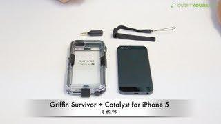 griffin survivor catalyst waterproof iphone 5s iphone 5 case review