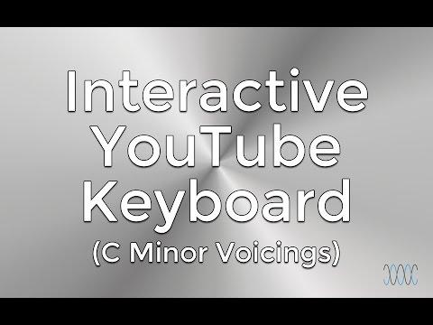 Popular Voicings of C Minor (Interactive YouTube Keyboard) - WARRENMUSIC Series - Harmony Module