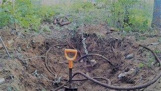 """""""Медный кабель в лесу"""" Выкопал и забрал!!!"""