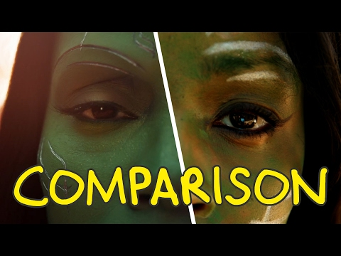 Guardians of the Galaxy Vol. 2 - Homemade Side by Side Comparison