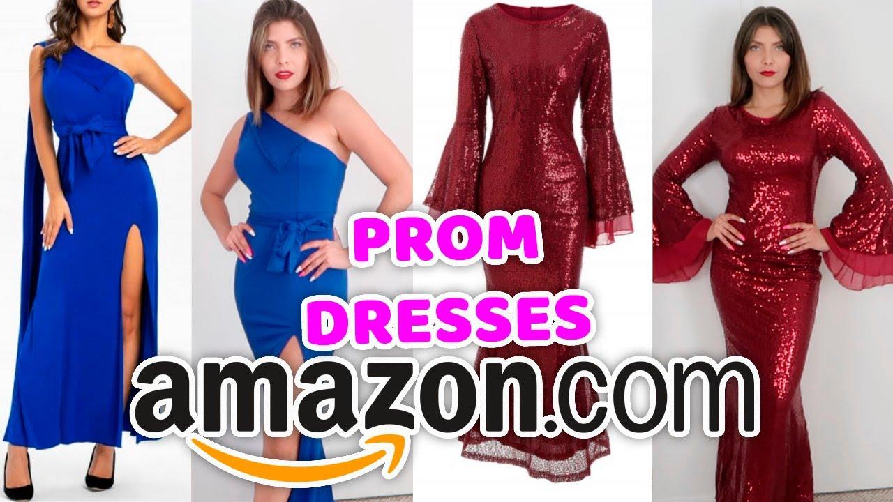 VESTIDOS BARATOS EN AMAZON! | LO QUE PEDÍ vs LO QUE RECIBÍ | Prom Dresses valen la pena?