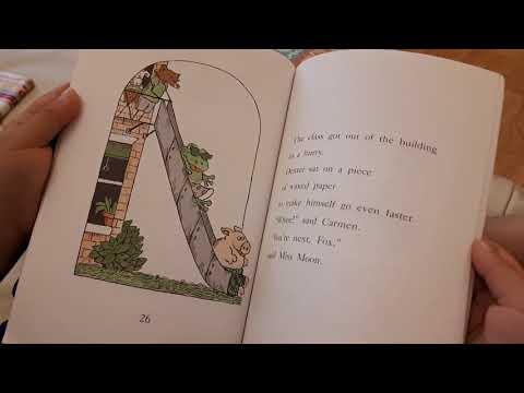 Fox at School - read by Callum