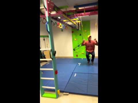 A Fully Functional Sensory Gym In Less Then 700 Sq