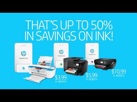HP Instant Ink: The Best Way To #NeverRunOut Of Ink
