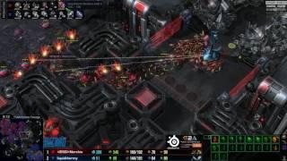 ZvT Nerchio vs uThermal - Mapa 4 - Starcraft 2 HD Polski komentarz