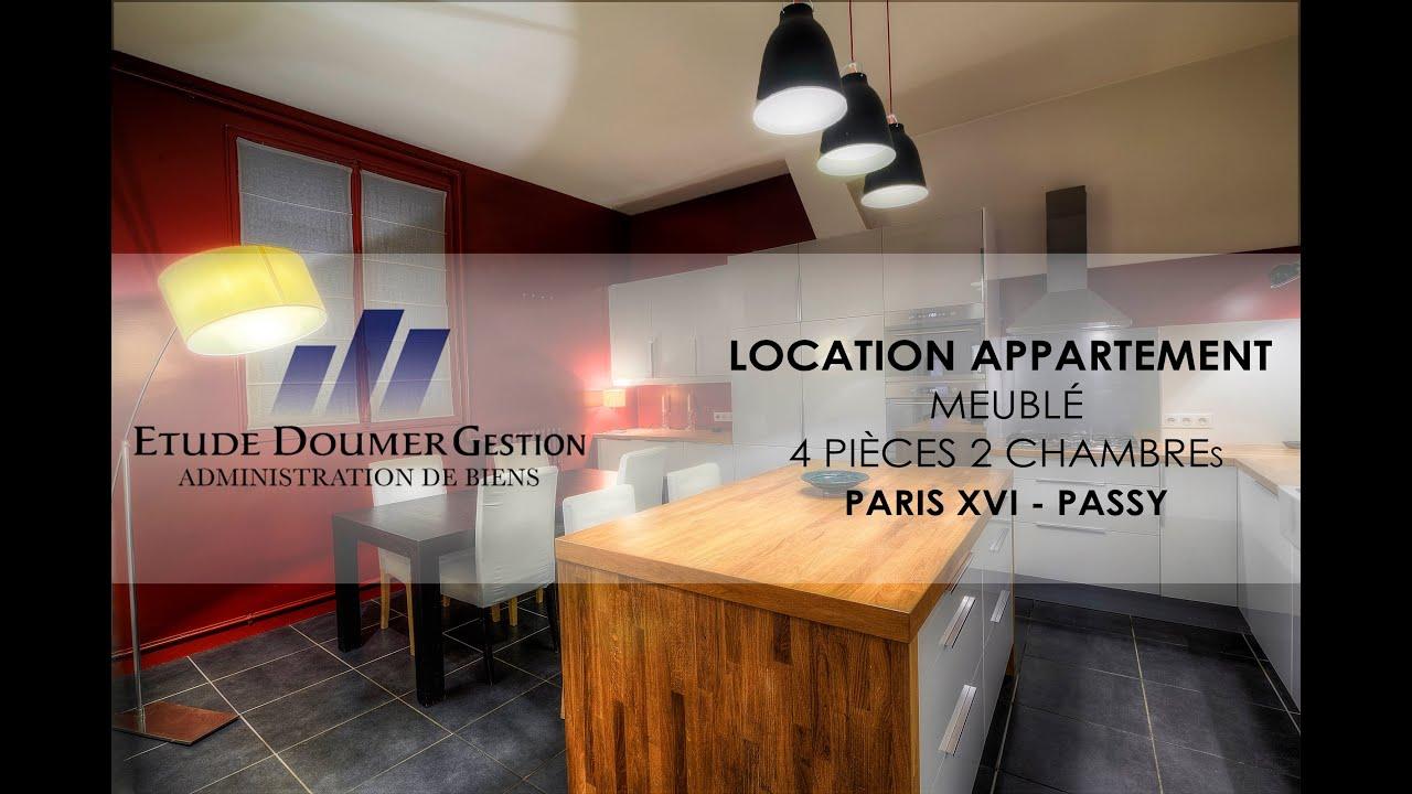 Location   Appartement   3 Pièces   Meublé   Paris 16   YouTube