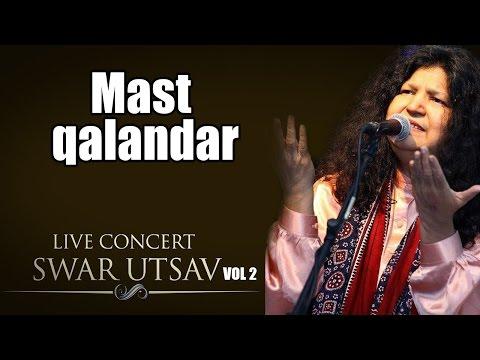Mast qalandar- Abida Parveen (Album: Live concert Swarutsav 2000)