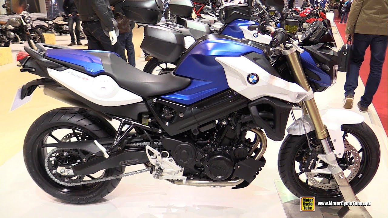 2016 bmw f800r walkaround 2015 salon de la moto paris. Black Bedroom Furniture Sets. Home Design Ideas