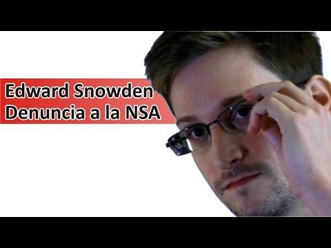 Snowden Denuncia a la NSA