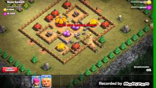 Let's play clash of clans#1 meine alte base