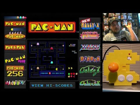 Pac-Man Connect & Play Game System Part 1 - Game Play