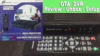 Mediasonic Homeworx HW180STB DVR - PVR unbox, review, setup