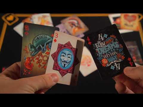 Carte da gioco Mazzo di carte Cardistry Color Playing Cards