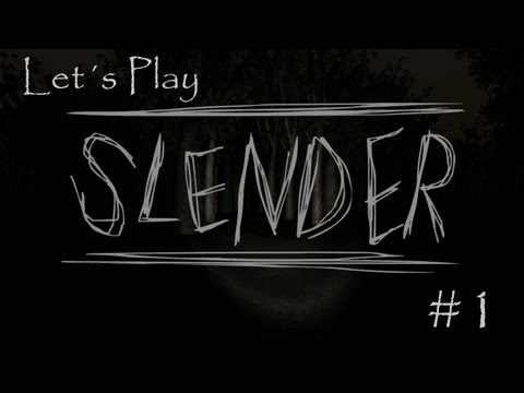 Let´s Play Slender - Paranoid! #01 [HD/German]